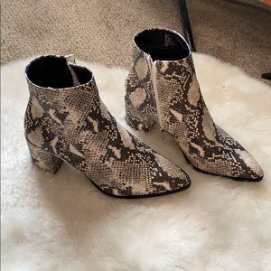 Brand New Madden Girl Snake Boot